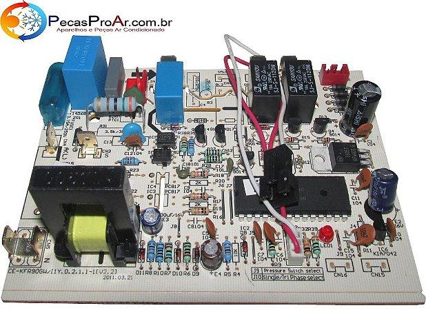 Placa Eletrônica Komeco Princess SPlit Hi Wall 30.000Btu/h KOS30FCG2
