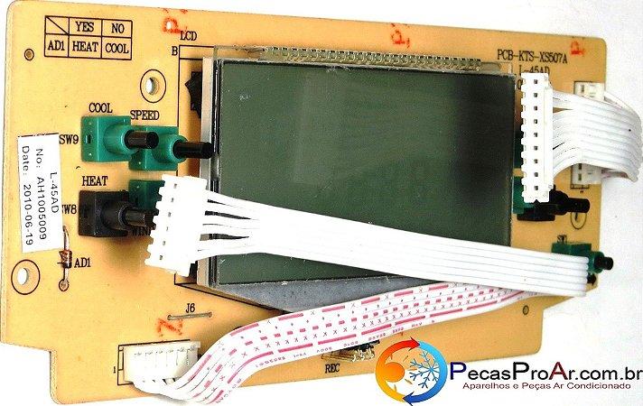 Placa Display Komeco Multiclimatizador KC10QCG1