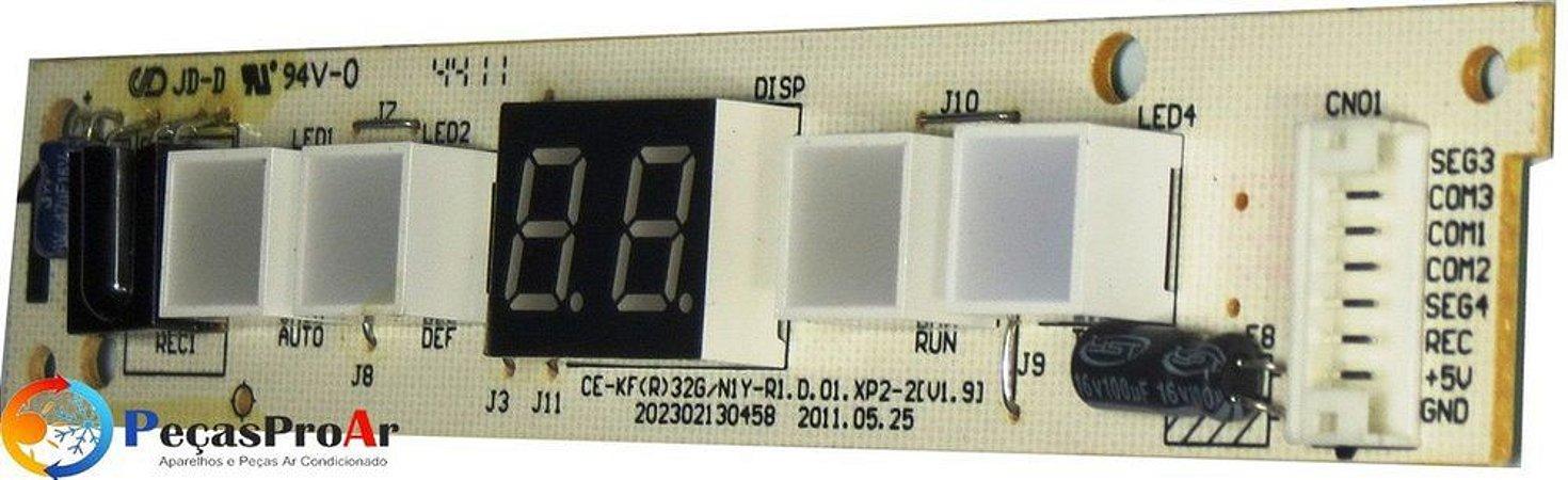 Placa Display Springer Novo Maxiflex Frio