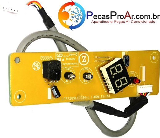 Placa Display Komeco Maxime Quente/Frio