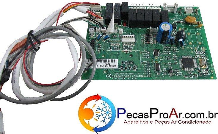 Placa Eletrônica Carrier Cassete Miraggio 36.000Btu/h 40KMC0360BA02THC