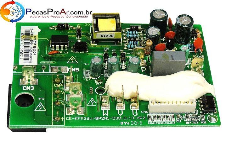 Placa Eletrônica da Condensadora Midea Eco Inverter Split Hi Wall 12.000Btu/h MSC12HRN1