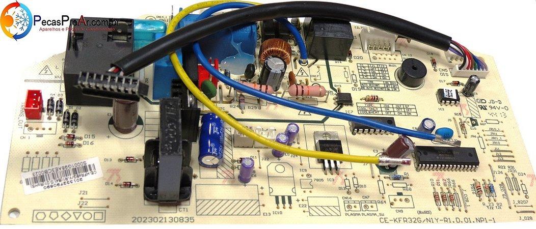 Placa Eletrônica Midea Decor SPlit Hi Wall 18.000Btu/h MSD18HR
