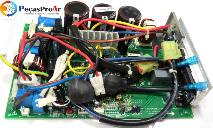 Placa Eletrônica Midea Eco Inverter MSC22HRN1