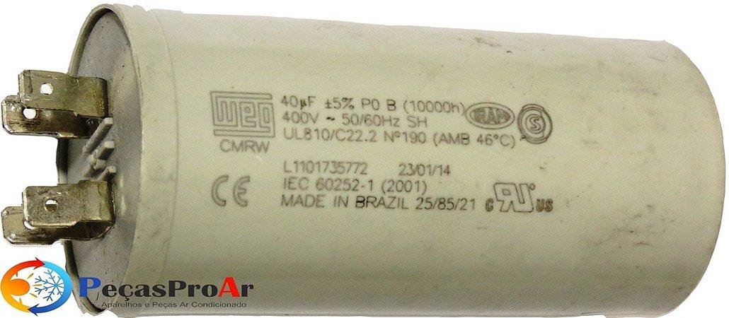Capacitor 40MF 400V