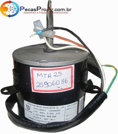 Motor Ventilador Carrier Hi-Wall 21W 38KCB007515MC