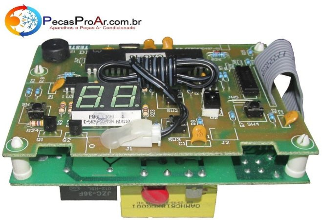 Placa Eletrônica Janela Springer Minimax 10.000Btus MCA108RB