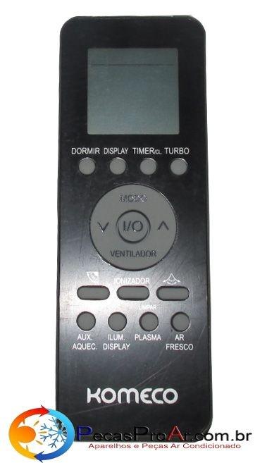 Controle Remoto Komeco HiGlass Quente/Frio