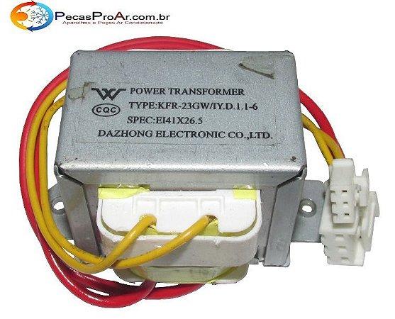 Transformador Da Evaporadora Midea Comfee MSM07CR