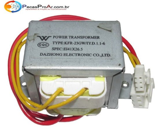 Transformador Da Evaporadora Midea Estilo 42MTCA09M5