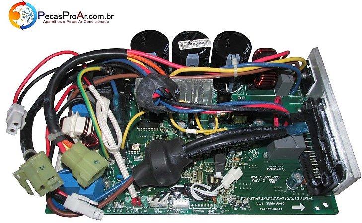 Placa Eletrônica Midea Eco Inverter Split Hi Wall 18.000Btus MSC18HRN1