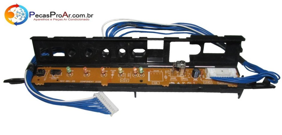 Placa Display Toshiba MCC861 Split Hi Wall RASM10GKVE2