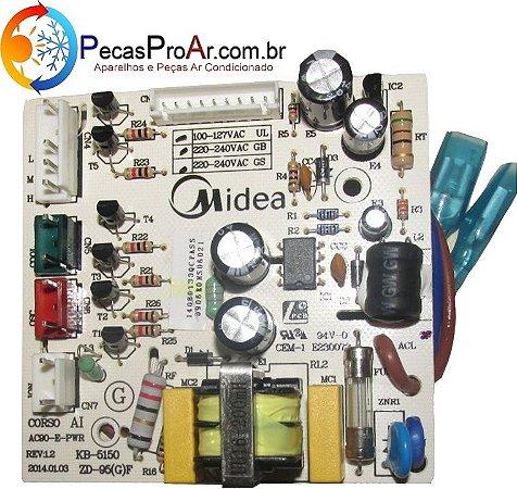 Placa Eletrônica Climatizador Midea SCAFRB1 127V