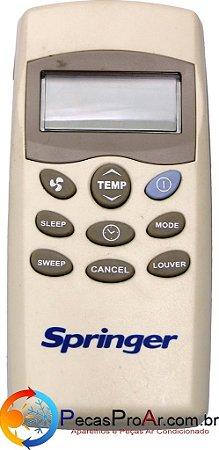 Controle Remoto Piso Teto Springer SilverMaxi 42XQB030515LS