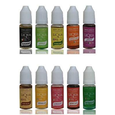 E-liquid Liqua™ (Italiana) 10ML com 6 mg/ml de Nicotina Essência Para Narguilé Eletrônico Cigarro Eletrônico