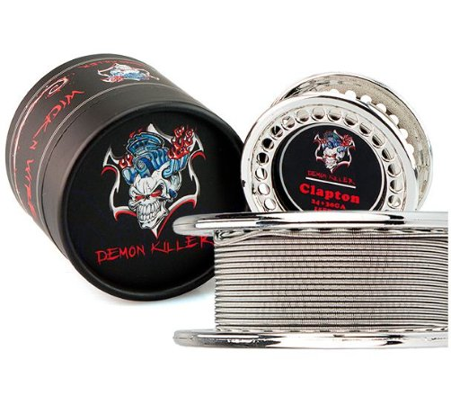 Demon Killer Clapton Wire + Kit Algodão - AWG24 / AWG30 - 4.5m