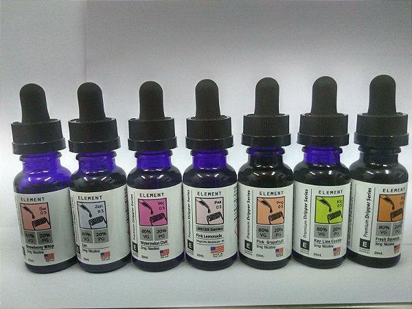 E-Liquid Element c/ Nicotina 3 mg/ml