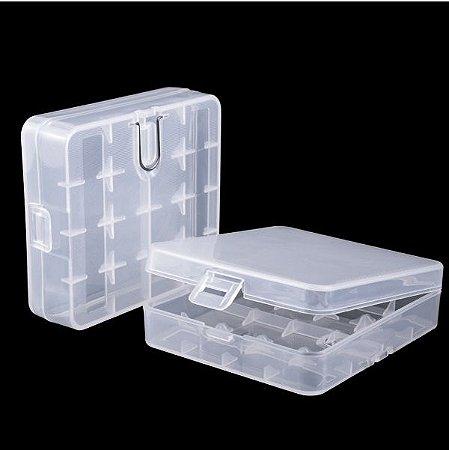 Case p/ 4x Baterias 18650