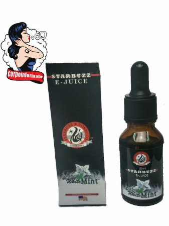 E-liquid Starbuzz® 15 ML - Sem Nicotina Exotic White Mint™
