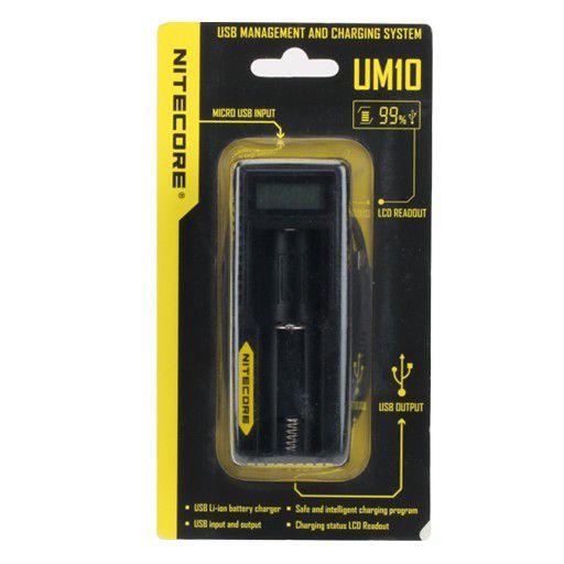 Nitecore UM10 carregador inteligente de bateria