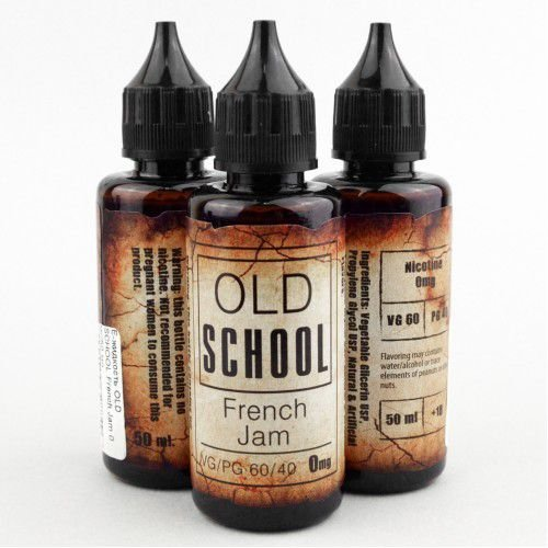 E-Liquid Old School French Jam 50ML - 60 VG / 40 PG