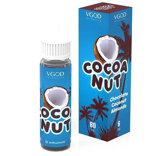 E-Juice Cocoa Nut VGOD Tricklyfe 60ML 3MG Nicotina