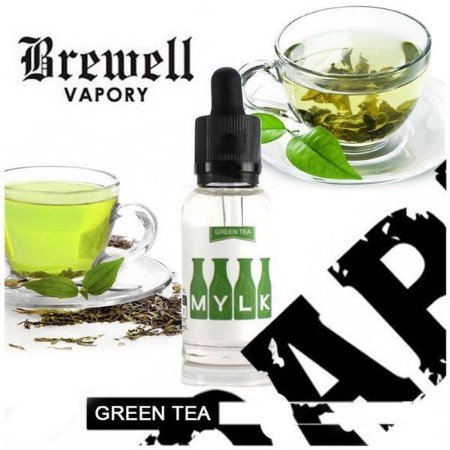 E-juice Mylk by Brewell Vapory - Green Tea 30ml