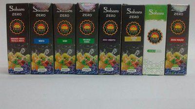 E-Liquid Sahara Morango + Creme Zero Nicotina - Ebuzz