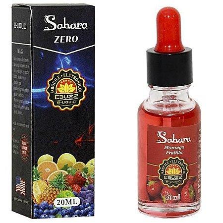 E-Liquid Sahara Morango  Zero Nicotina - Ebuzz