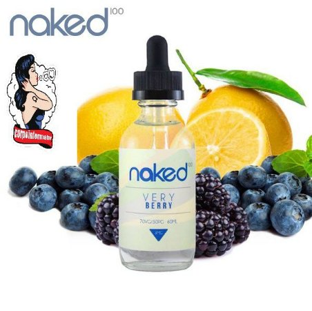 E-liquid Very Berry 70VG/30PG 60ML - NaKed100 E-liquid