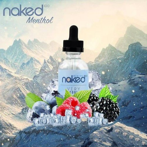 E-liquid Very Cool 70VG/30PG 60ML - NaKed100 Menthol E-liquid