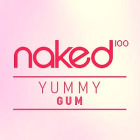 E-liquid Yummy Gum 70VG/30PG 60ML - NaKed100 E-liquid