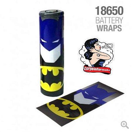 Vaper Wraper para baterias 18650 Batman