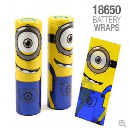 Vaper Wraper para baterias 18650 Minions