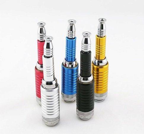 K 100 Telescópico 2200 mah Cigarro Eletrônico Mecânico, apto para 510 / M7 / CE série atomizador Brinde 2 essências New Liquid 10 ML