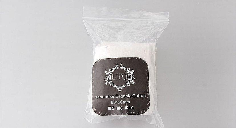 Algodão Orgânico Japonês LTQ - 100% Orgânico