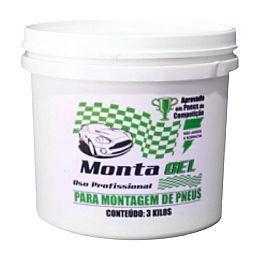 PASTA P/MONTAR PNEU GEL GALAO 3.0 KG