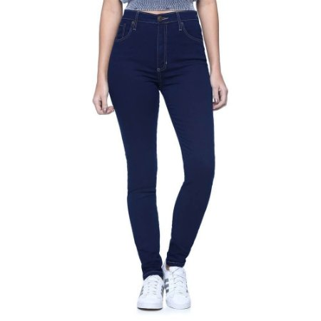 3dca1315c Calça Jeans Feminina Cintura Alta Skinny Cós Alto - LOJA LETTI
