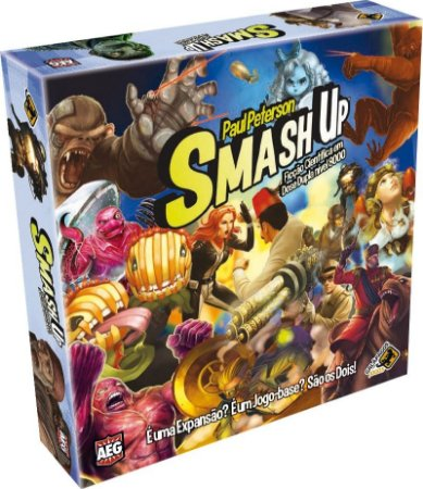 Smash Up: Ficção Científica Dose Dupla Nível 8000