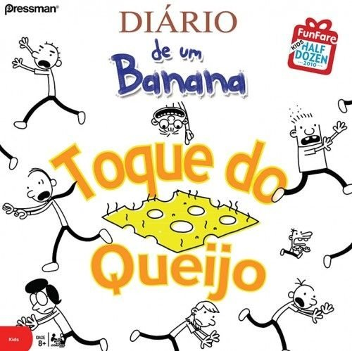 Diário de Um Banana: Toque do Queijo - Em Português!