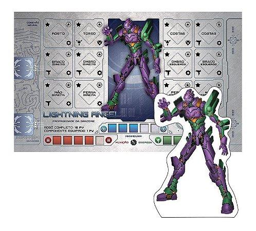 Robô Promocional Lightning Angel - Expansão de Caçadores da Galáxia - Jogo Nacional!