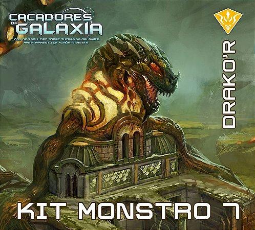 Kit Monstro 7 - Expansão de Caçadores da Galáxia - Jogo Nacional!