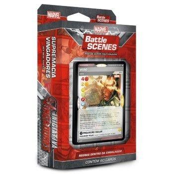 Deck Supremacia Vingadores - Iniciativa Vingadores - Battle Scenes - Jogo Nacional!