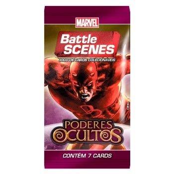 Booster Demolidor - Poderes Ocultos - Battle Scenes - Jogo Nacional!