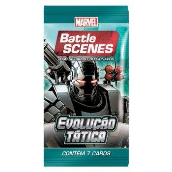 Booster Máquina de Combate - Evolução Tática - Battle Scenes - Jogo Nacional!