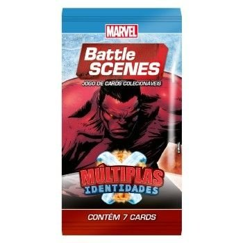 Booster Hulk Vermelho - Múltiplas Identidades - Battle Scenes - Jogo Nacional!