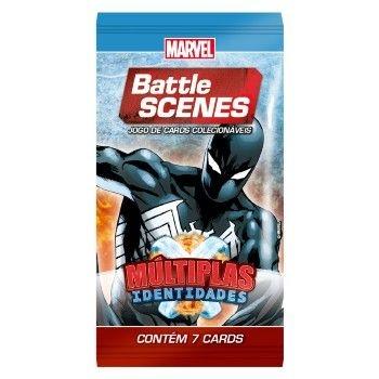 Booster Homem Aranha - Múltiplas Identidades - Battle Scenes - Jogo Nacional!