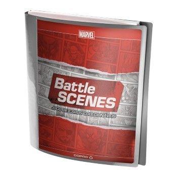 Pasta Porta-Cards - Binder - Acessório para Battle Scenes