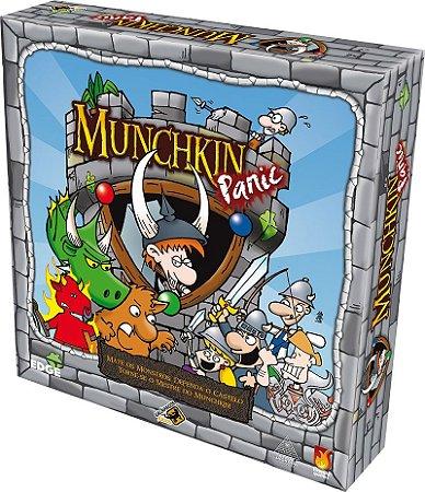 Munchkin Panic - Jogo de Tabuleiro em Português - Galápagos