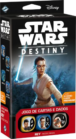 Star Wars Destiny - Deck Inicial Rey